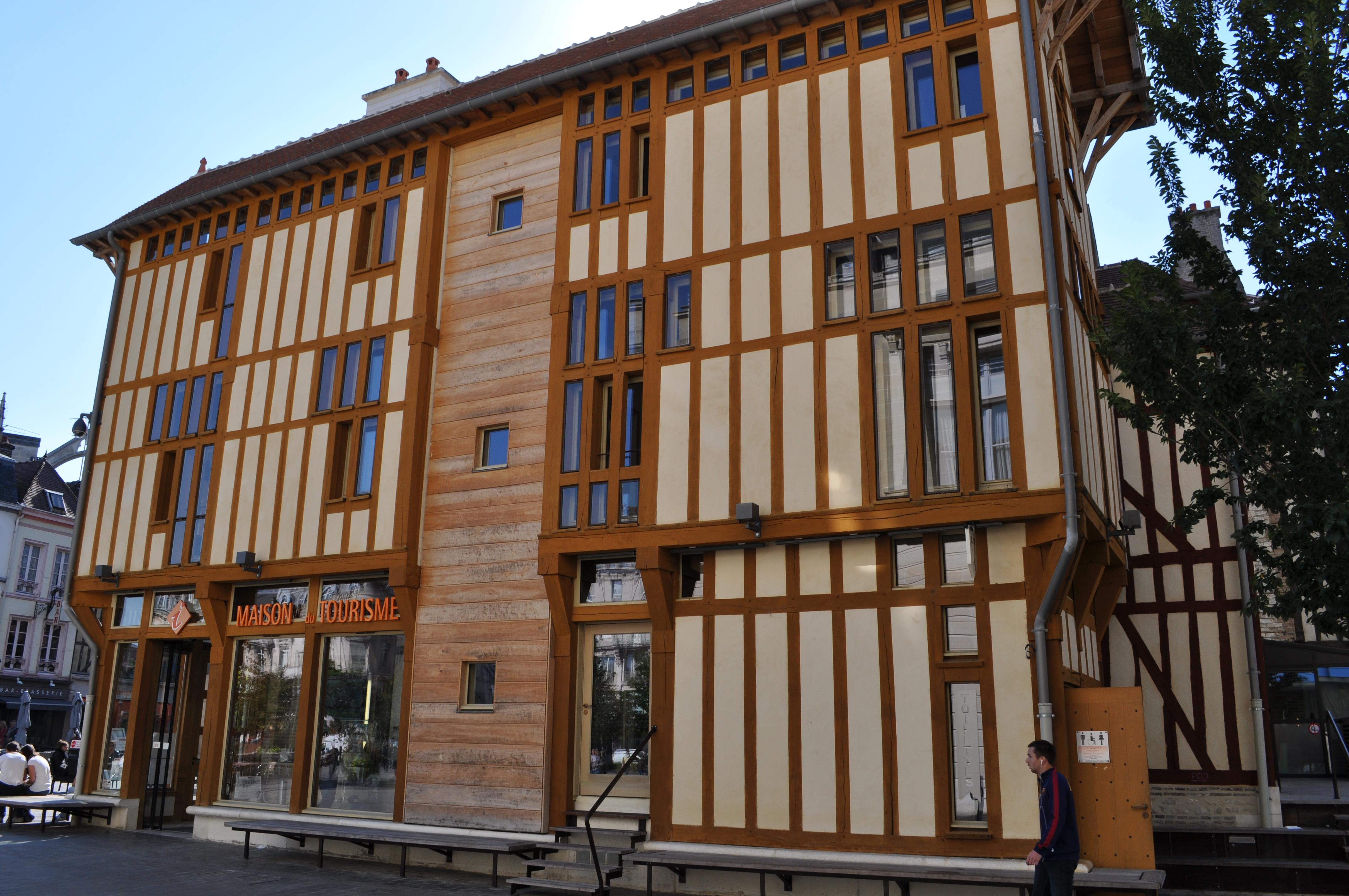 Office du tourisme de troyes lambert menuiserie - Troyes office de tourisme ...